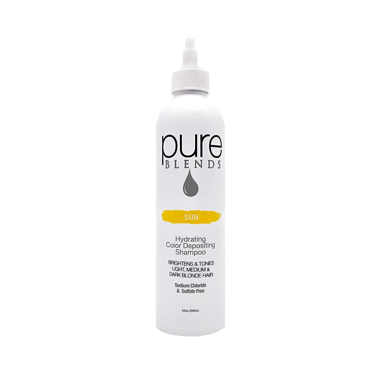 Pure Blends Hydrating Color Depositing Shampoo - Sun