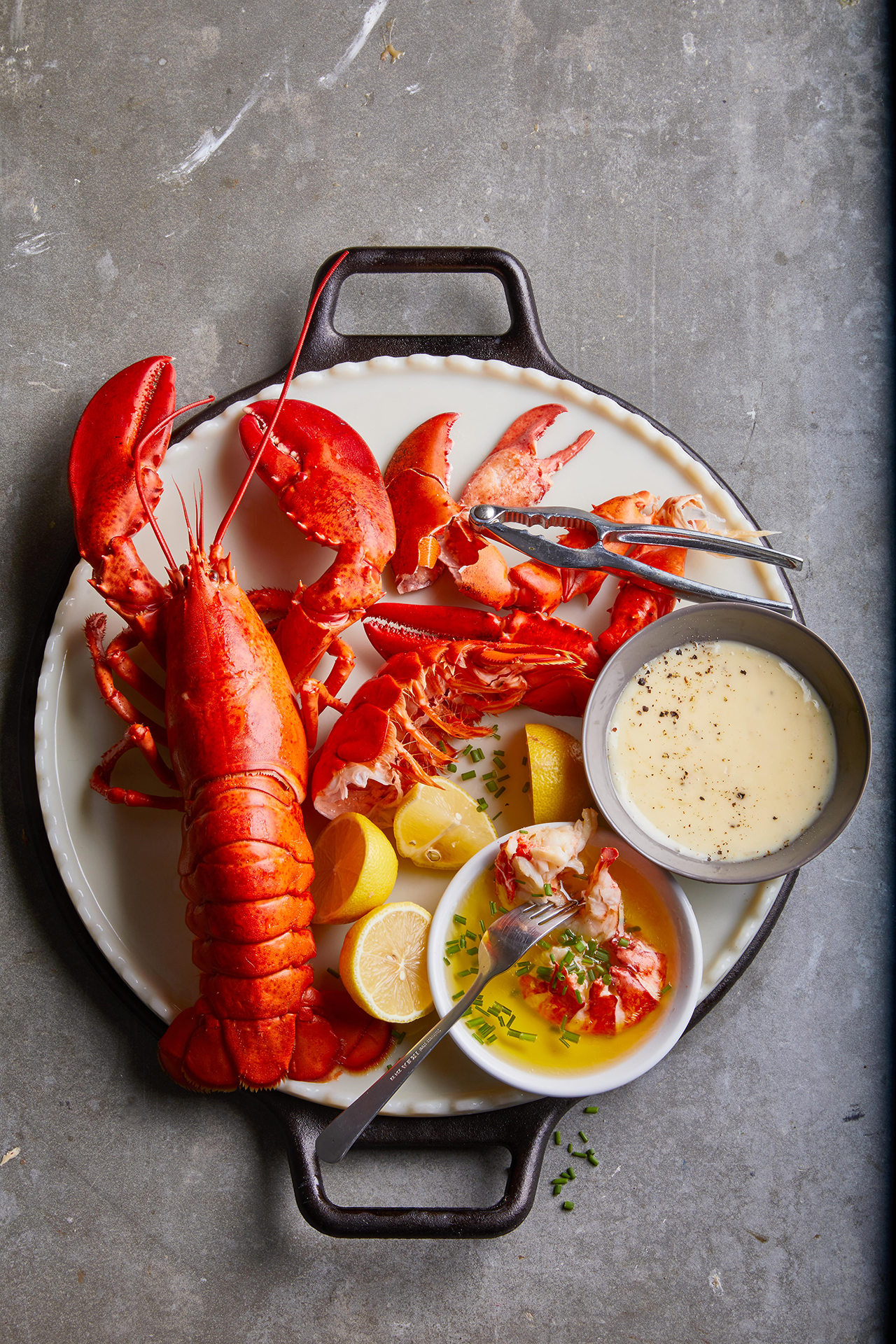 Easy Boiled Lobster