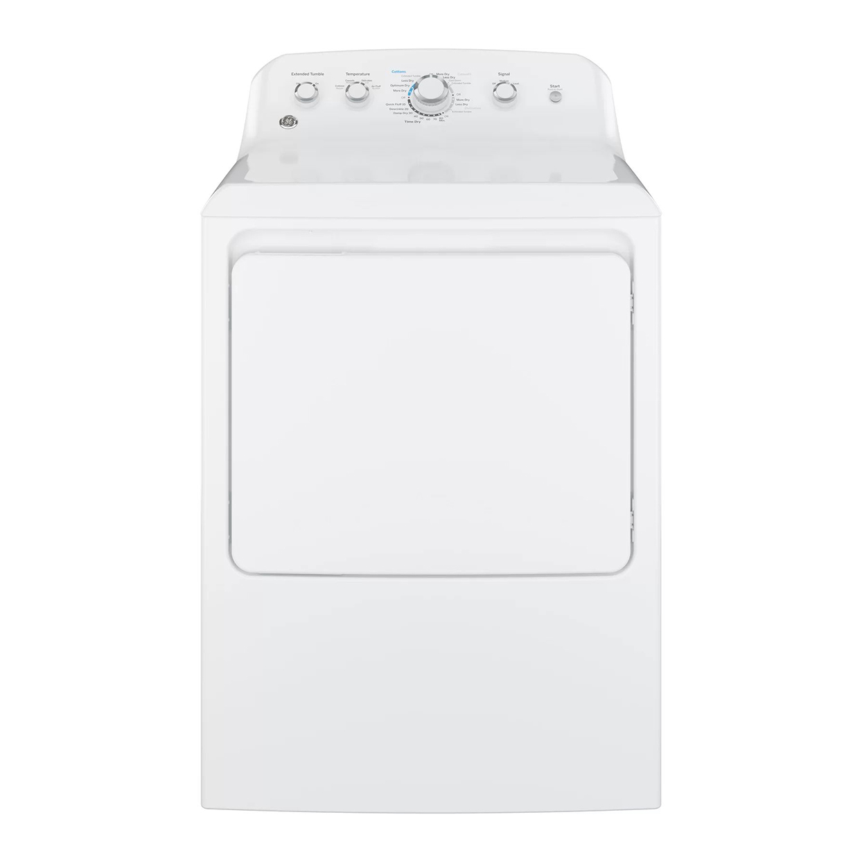 GE Electric Dryer with Aluminized Alloy Drum