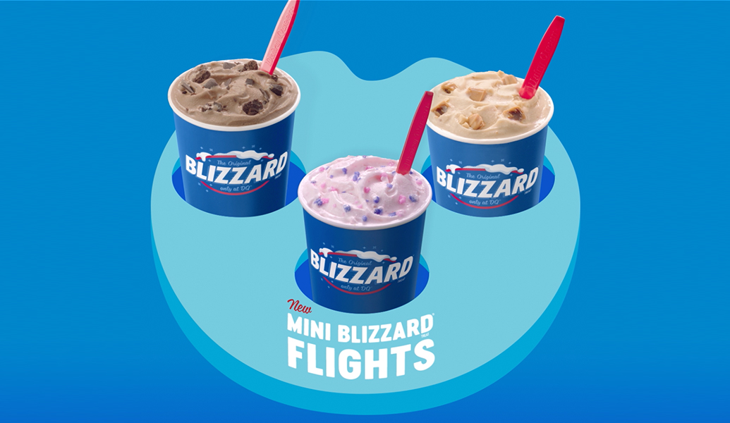 DQ blizzard flights