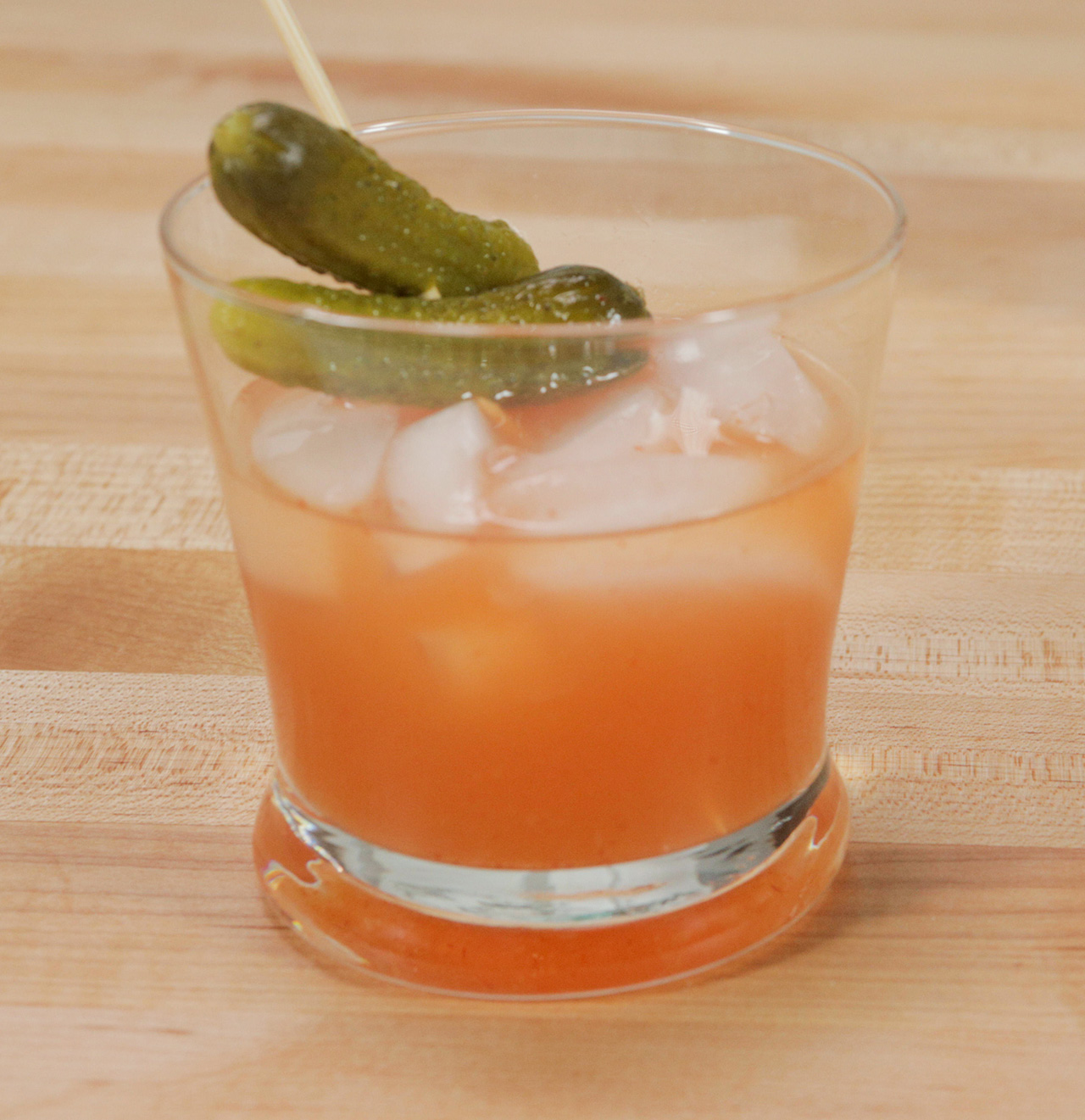 Pickled Whiskey Cocktail