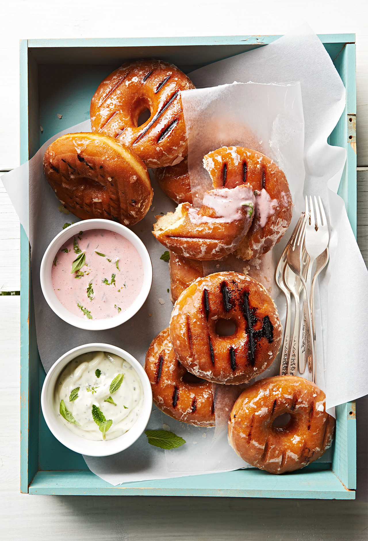 Grilled Doughnuts