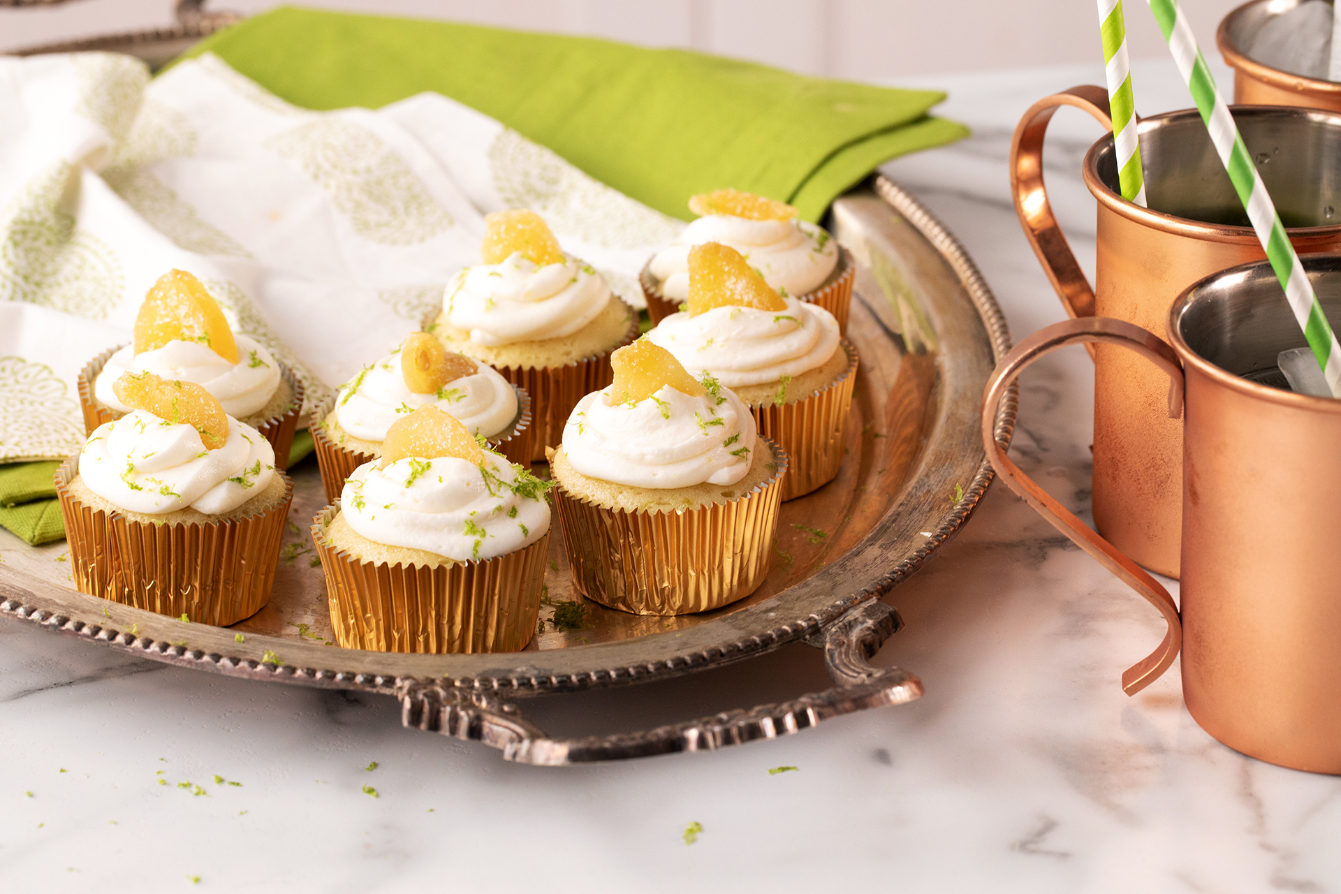 Moscow Mule Cupcake