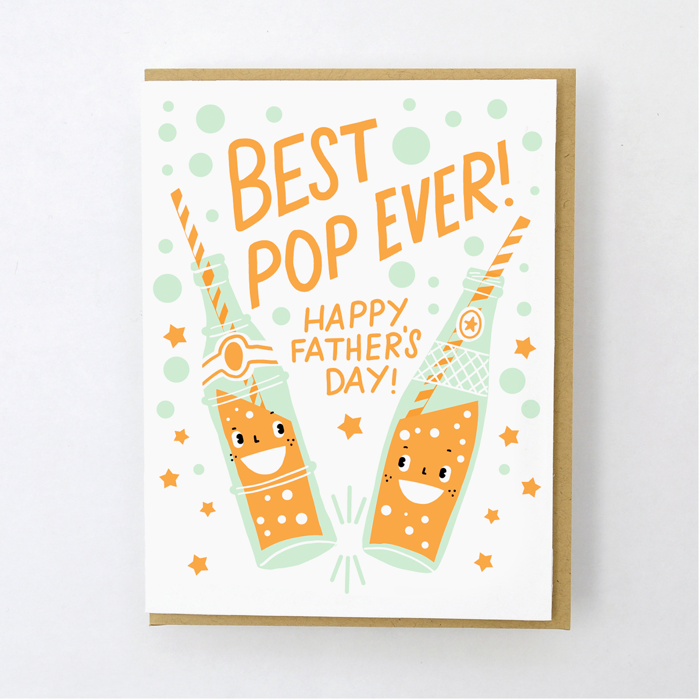 best pop fathers day card