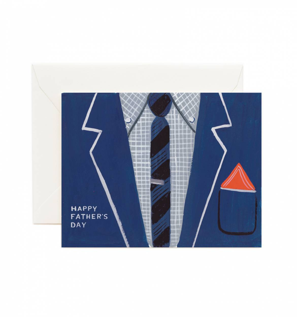 Happy Father's Day suit card