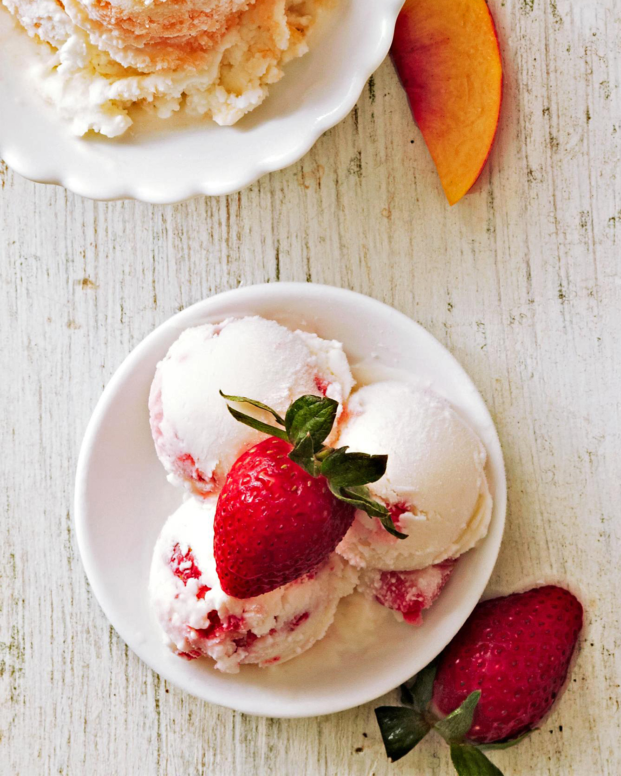 Strawberry Greek Frozen Yogurt
