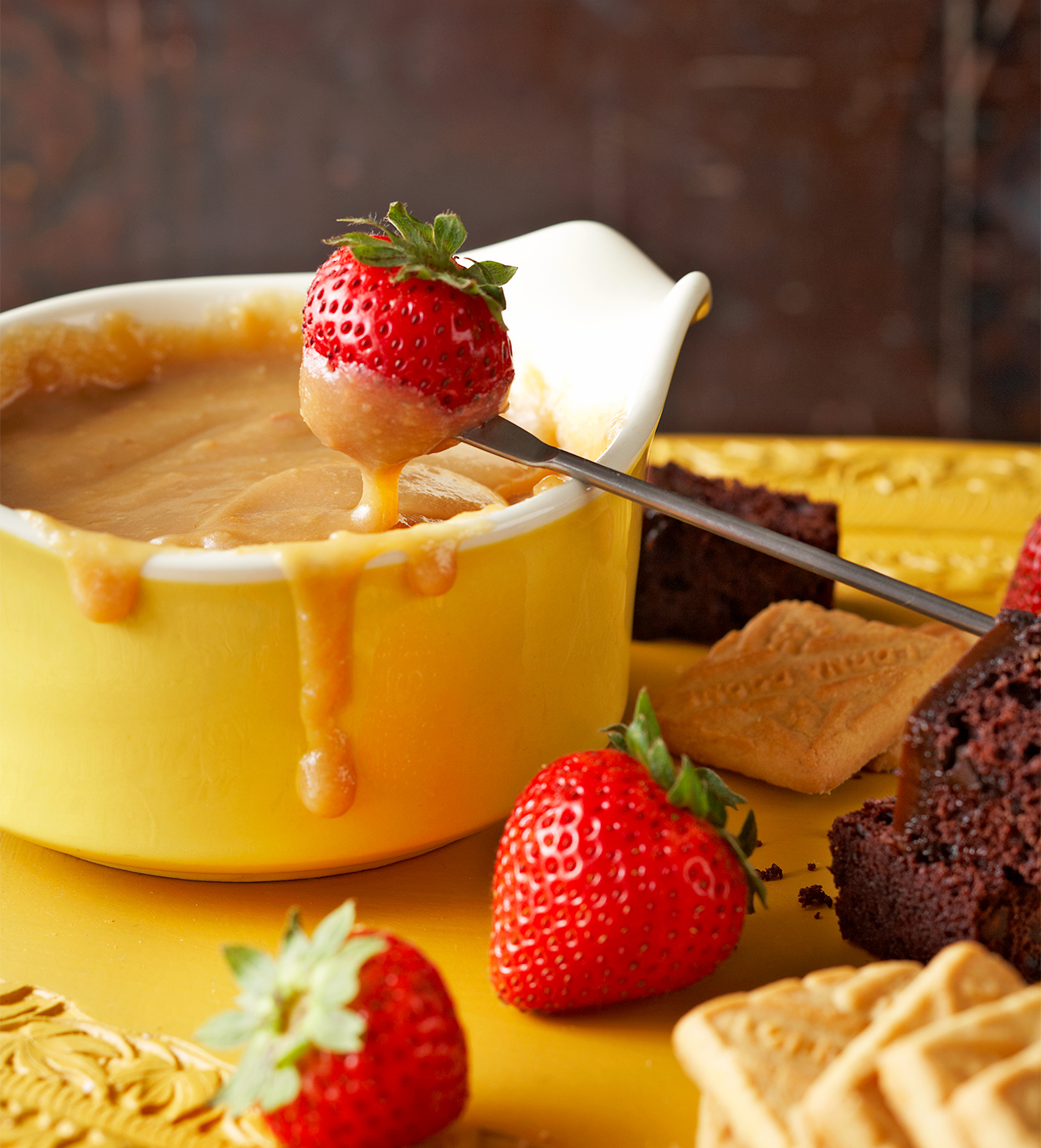 Butterscotch Fondue