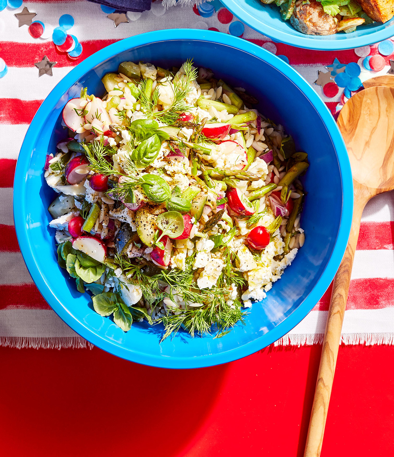 Marinated Veggie-Orzo Salad