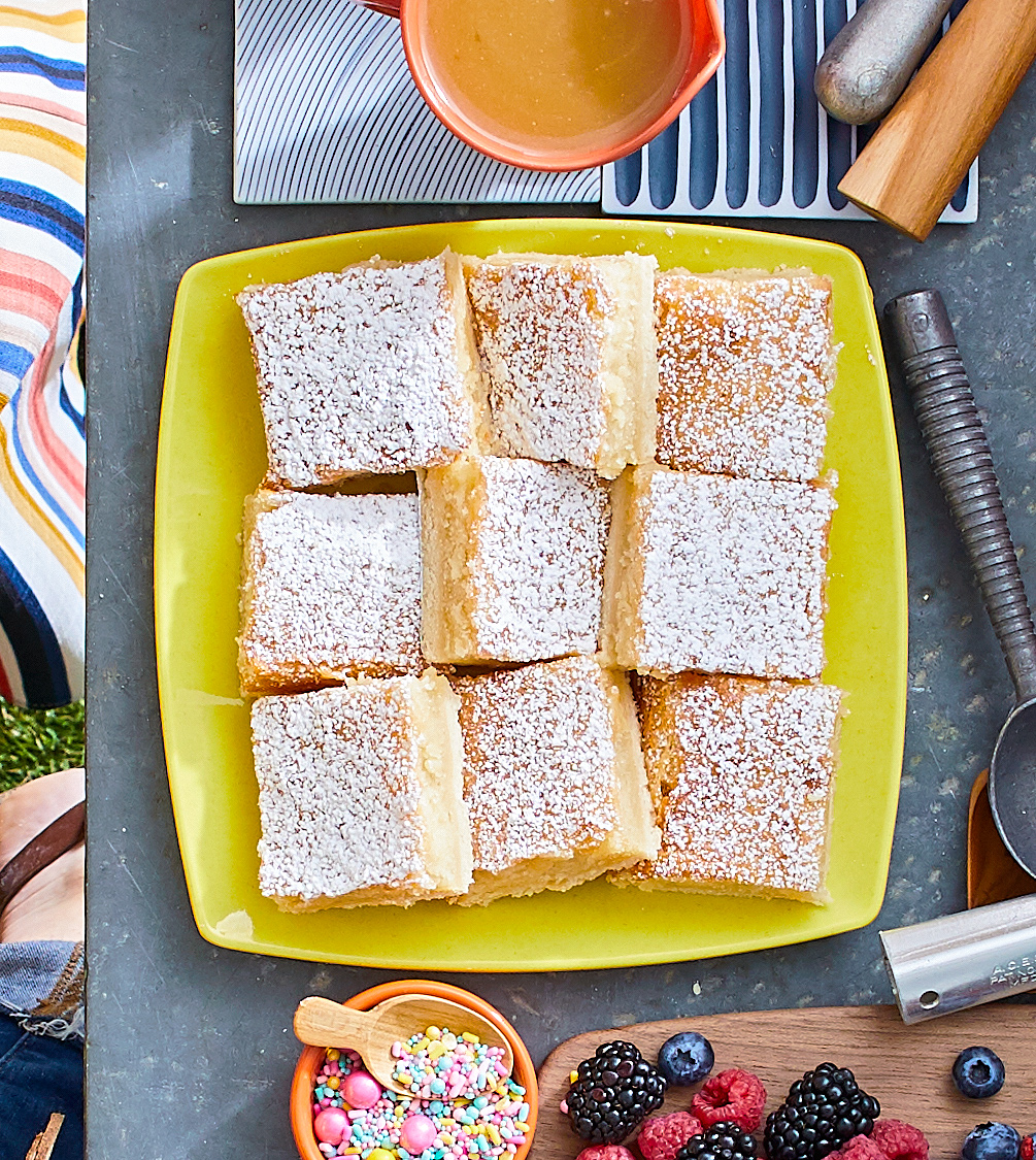 Missouri Gooey Butter Bars