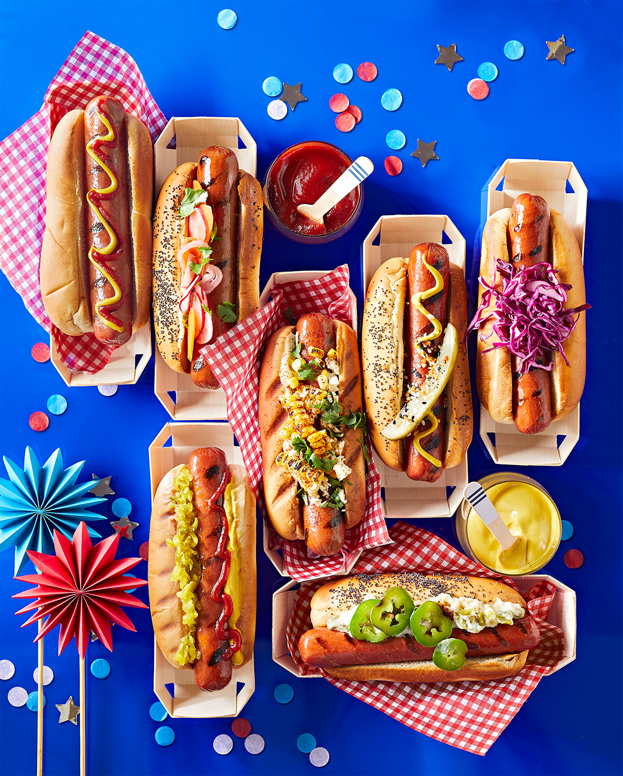 fourth of july hot dogs july 2019 cover image