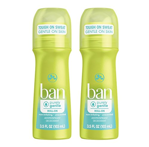 two lime green sticks of deodorant