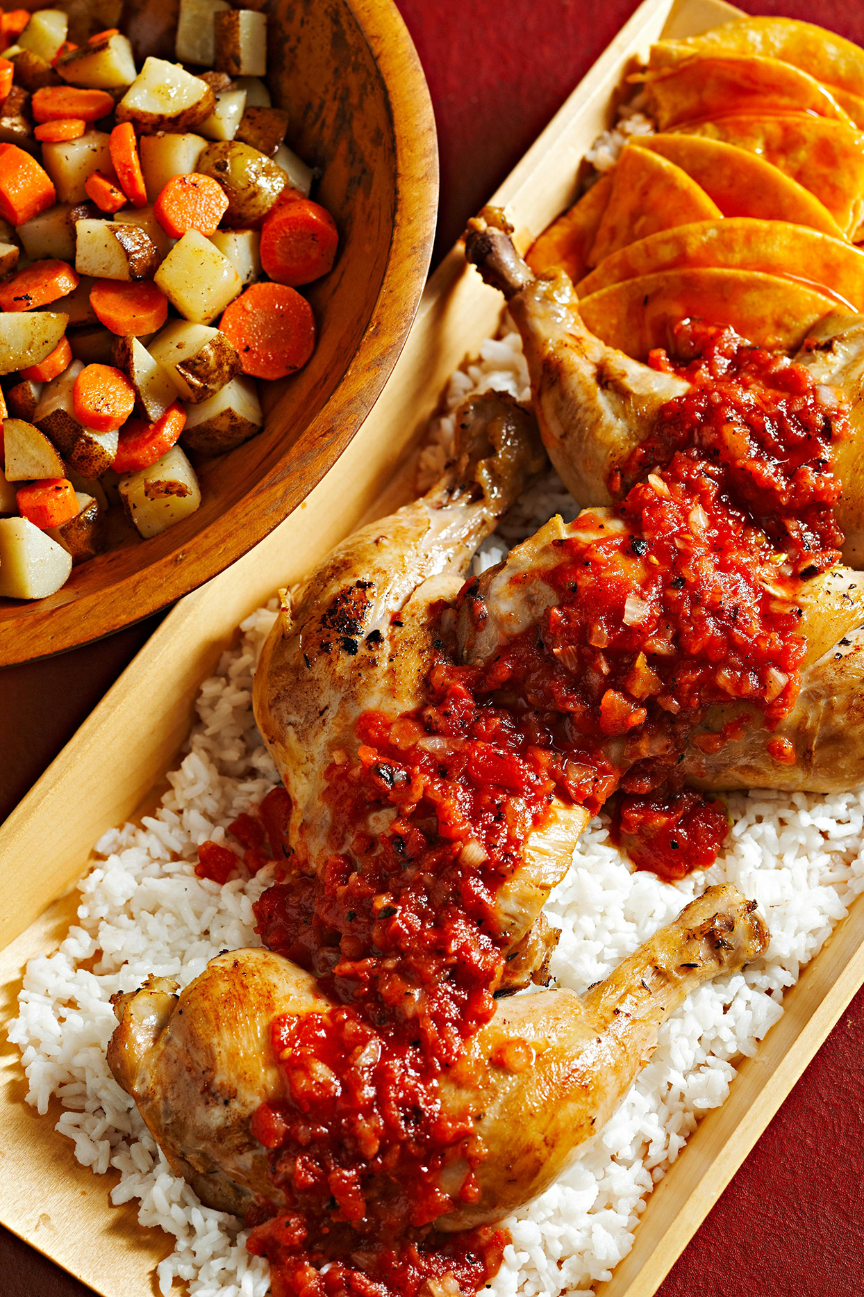 Pollo Placero (Plaza-Style Chicken)