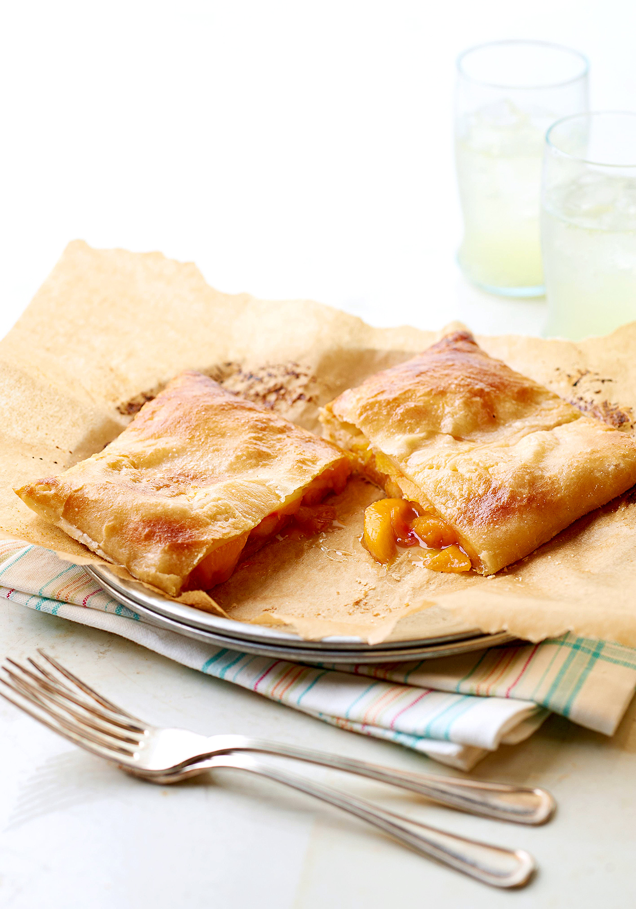 Peach Turnovers for Two