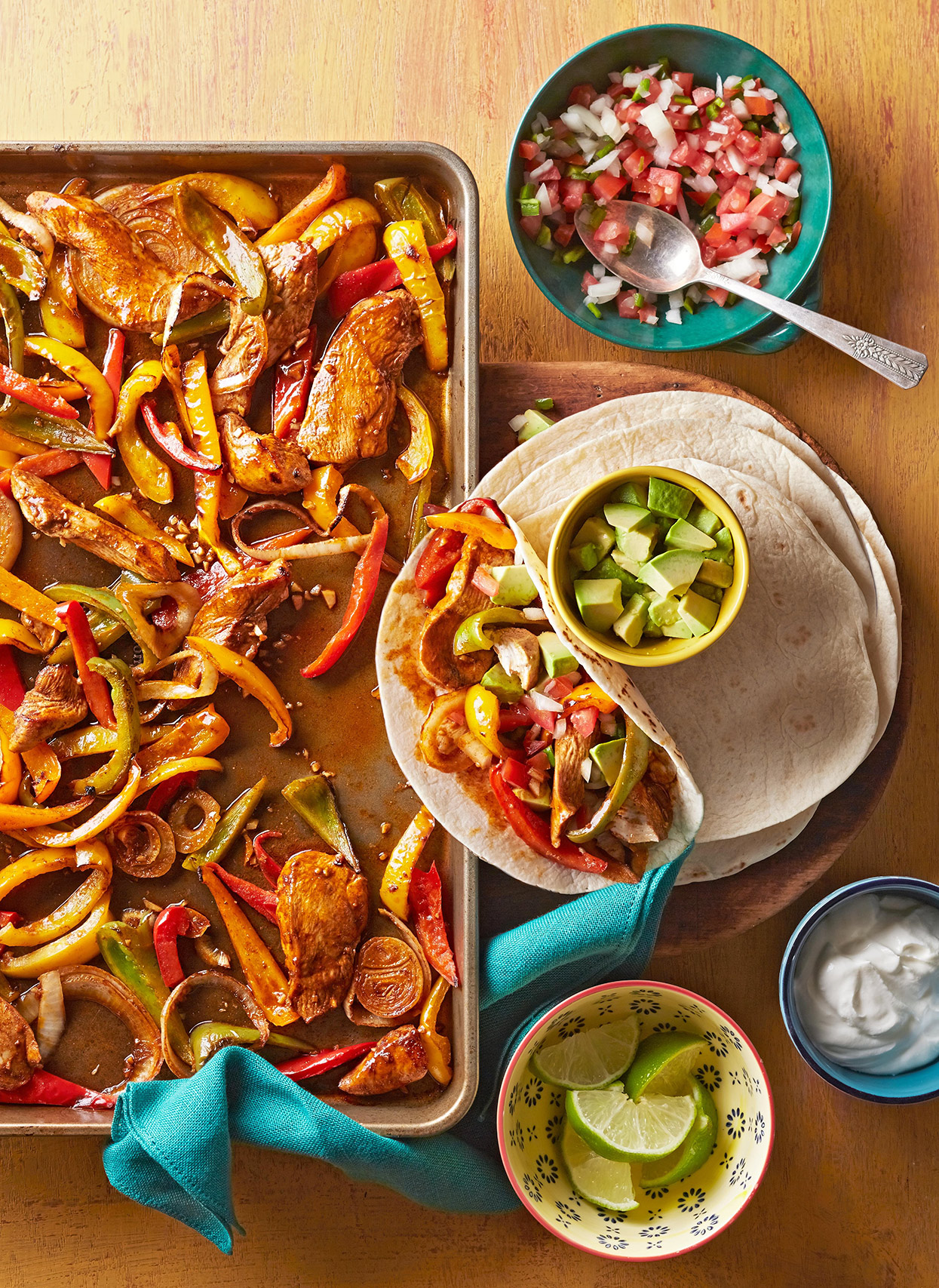 Chicken Fajitas in a Flash