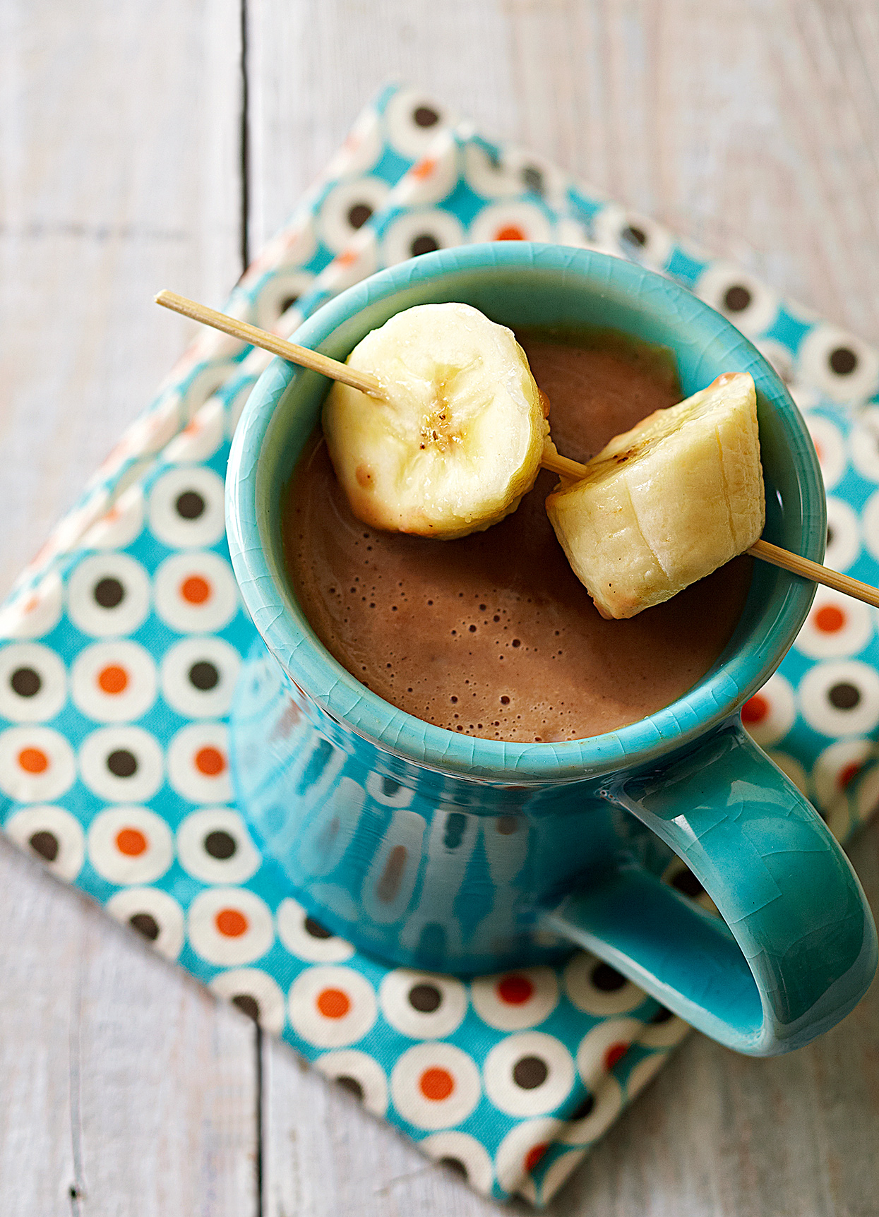 Caramelized Banana Champurrado