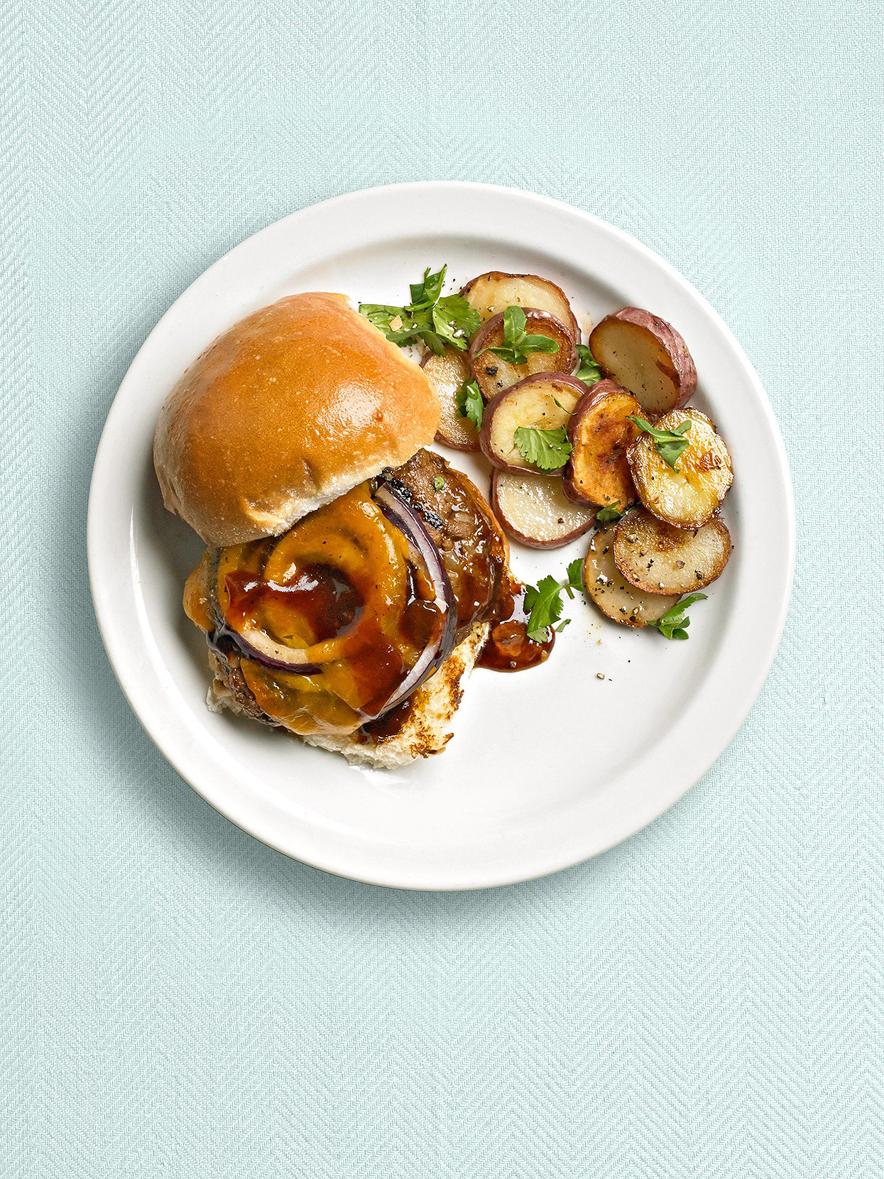 Grilled Meat Loaf Burgers