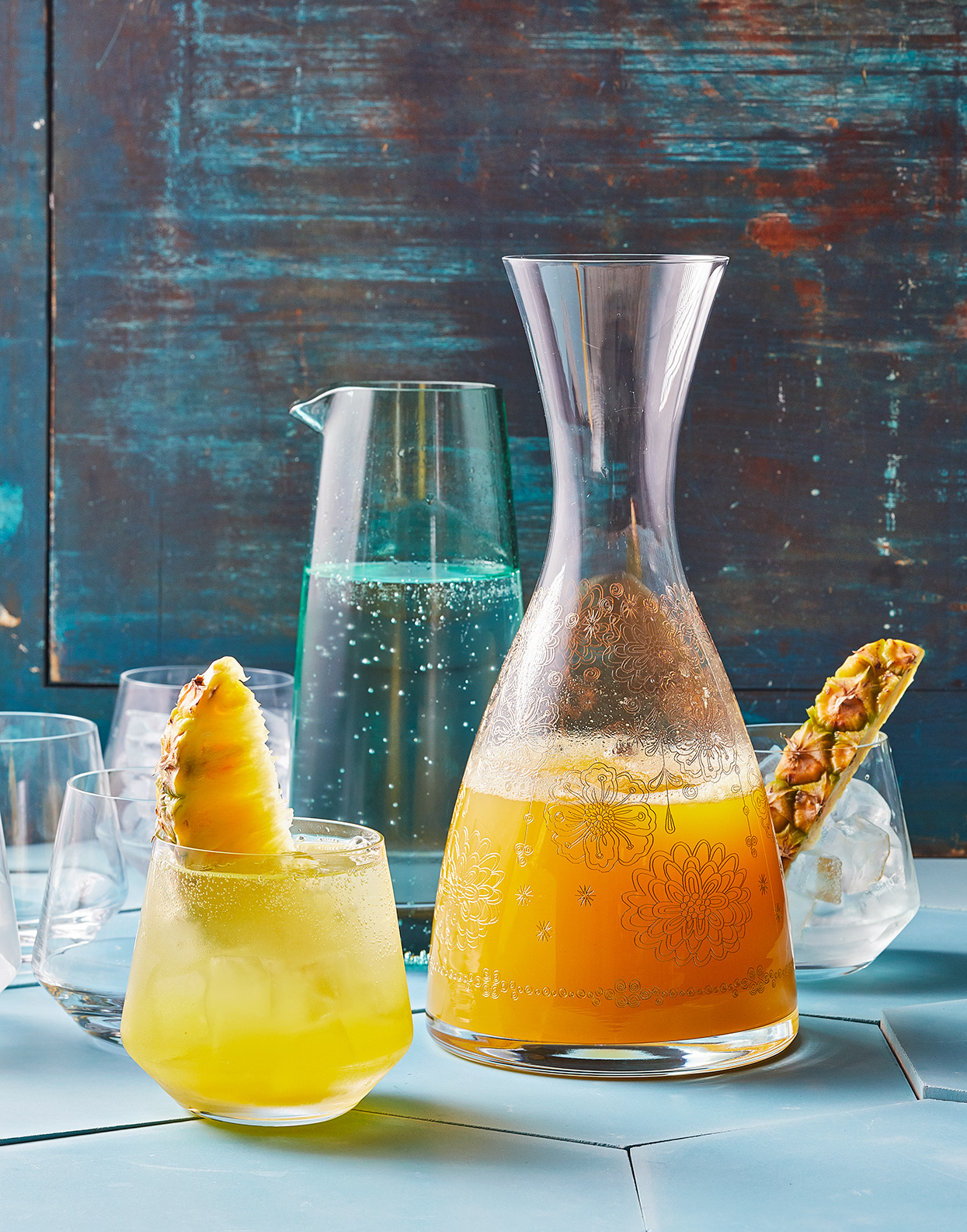 turmeric-pineapple sipper
