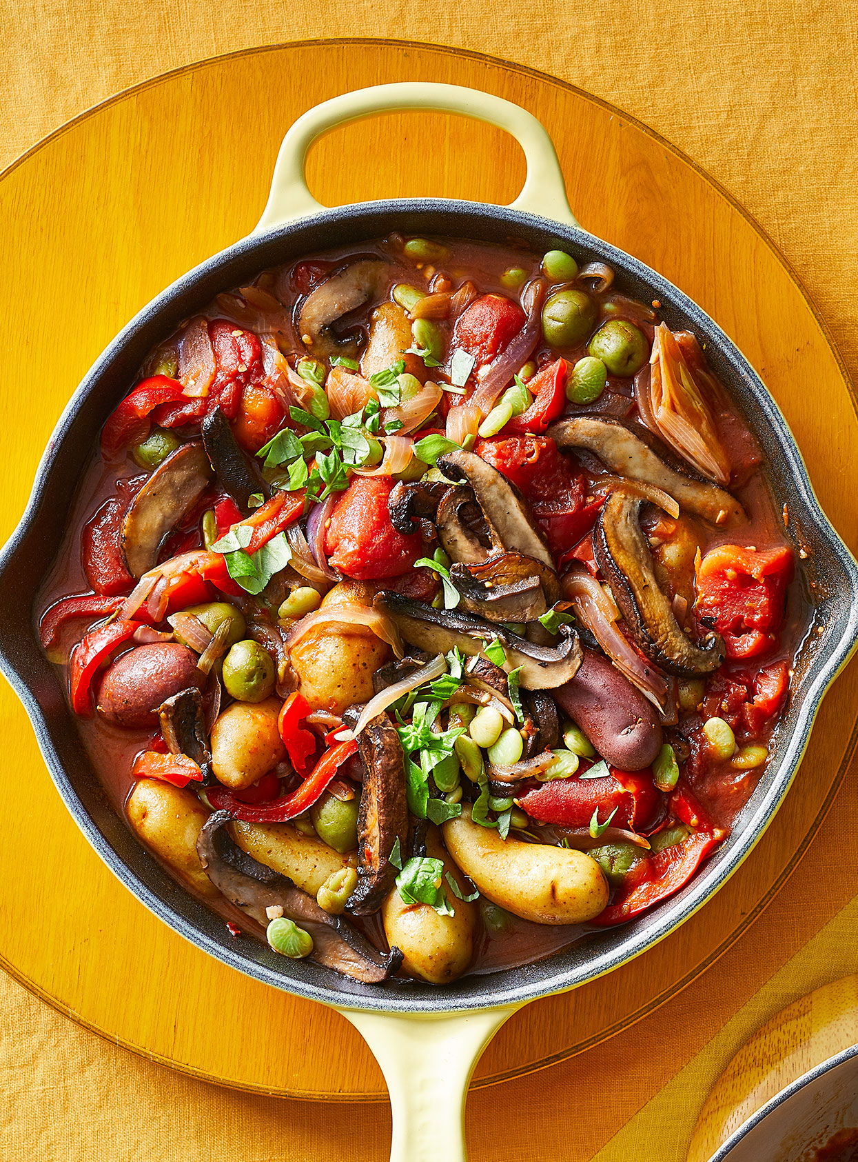 hearty vegetable cacciatore