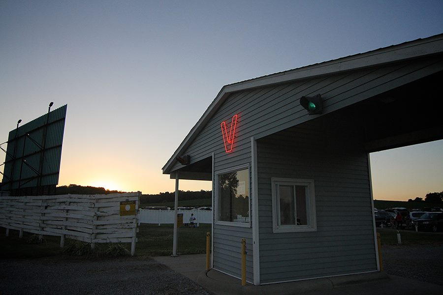 valle drive-in in iowa
