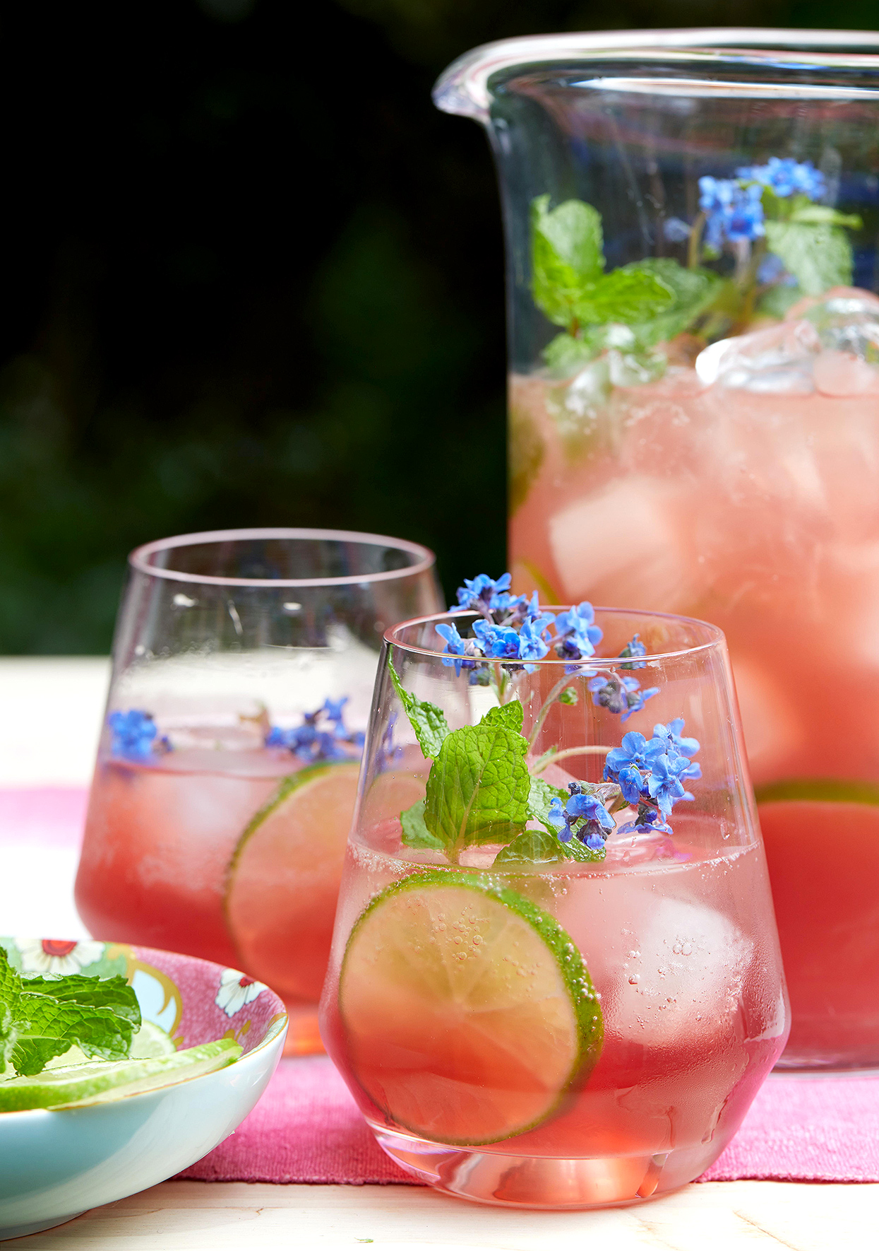 Garden Party Cocktail: Hibiscus Punch