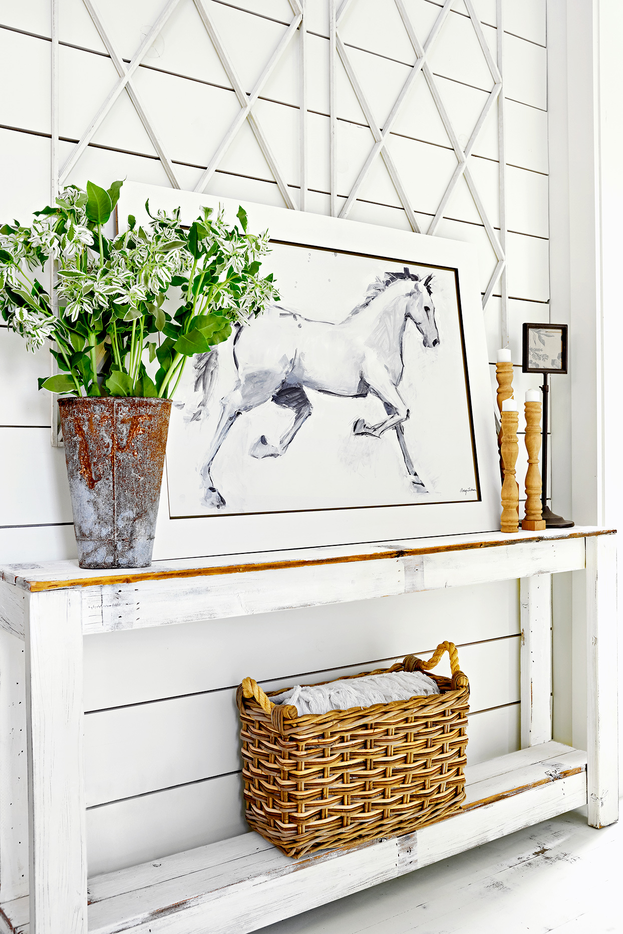 10 Wall Decor Ideas For Your Farmhouse Inspired Home Better Homes Gardens