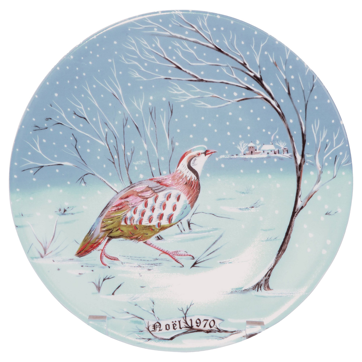 A Partridge in a Pear Tree Plate