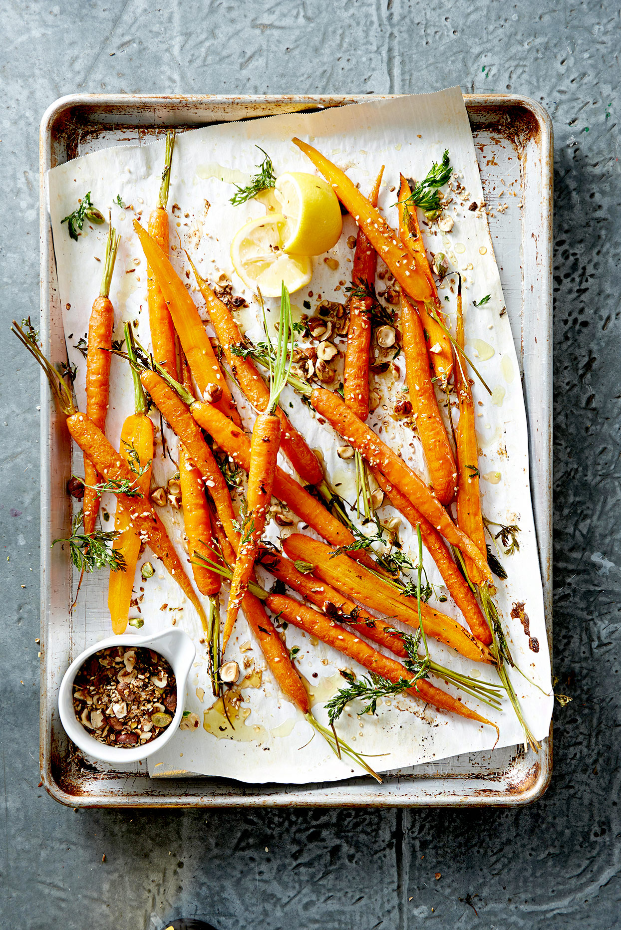 Spice and Honey-Roasted Carrots