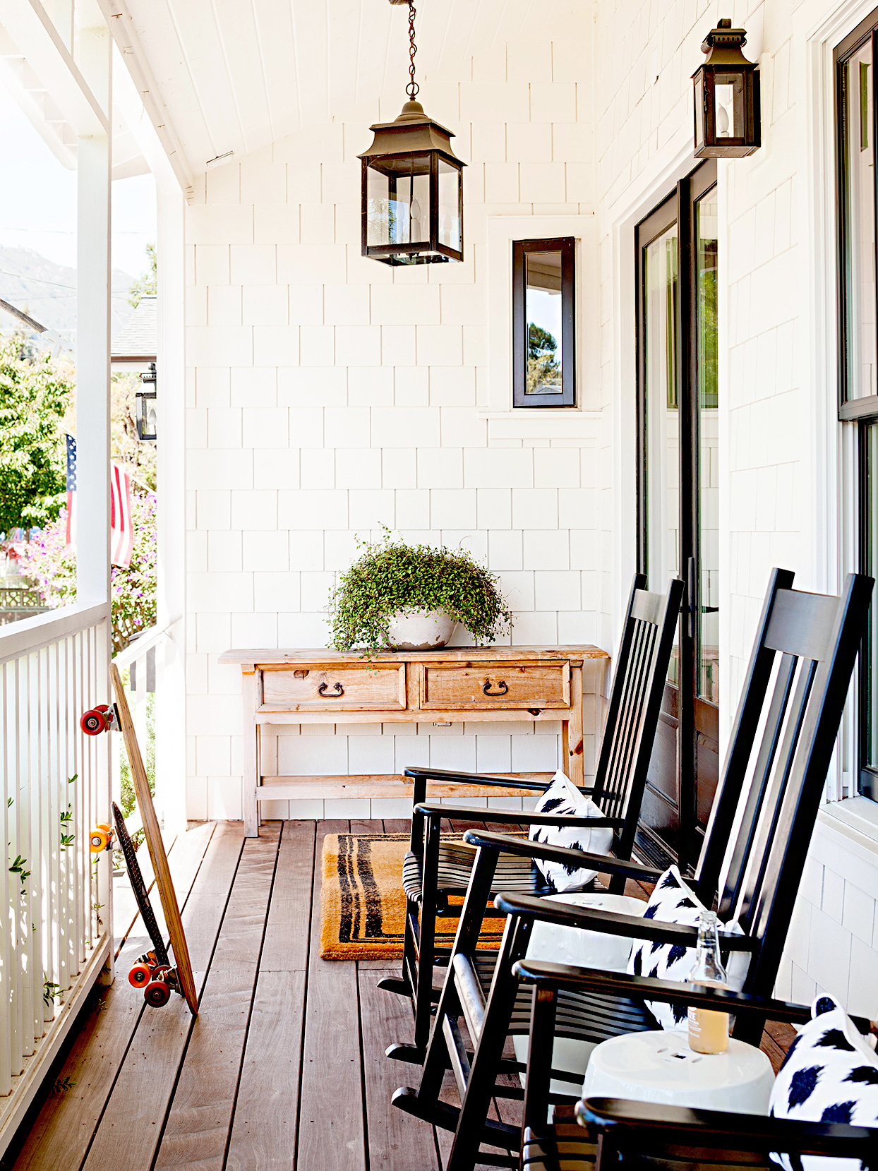 Curb Appeal in a Day: Dress Up Your Porch with Seating