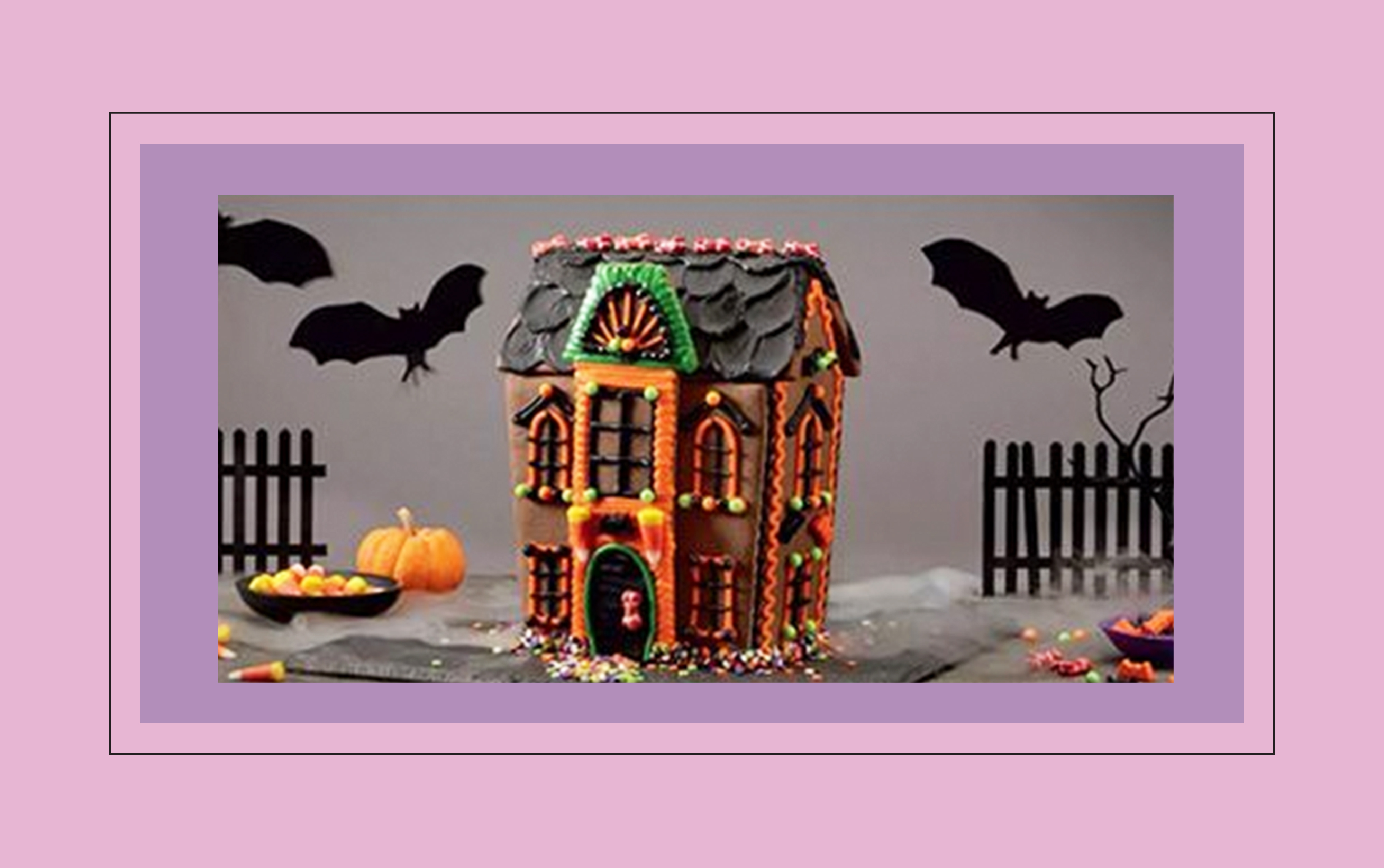 halloween cookie house