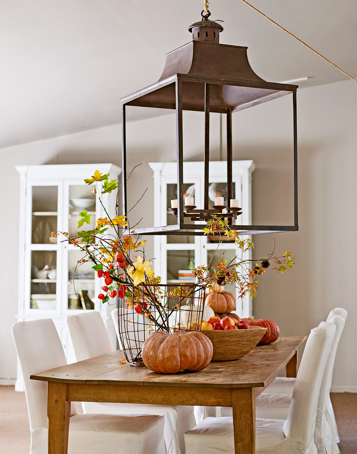 Gathered Fall Table Decor