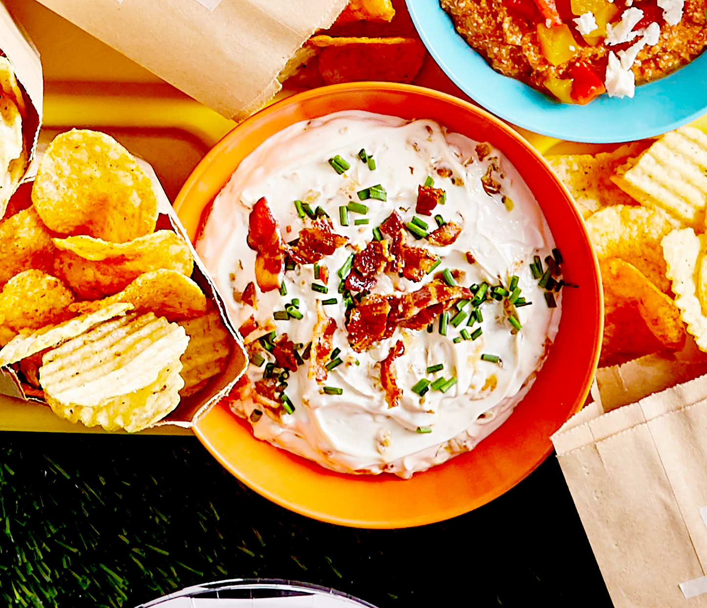 Tangy Sour Cream and Onion Dip