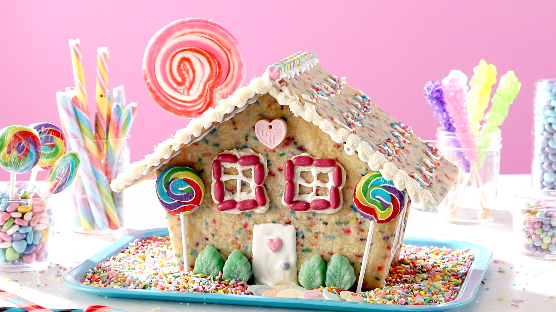 Confetti Cookie House