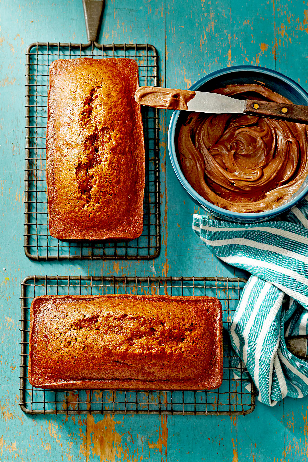 Frosted Pumpkin Bread