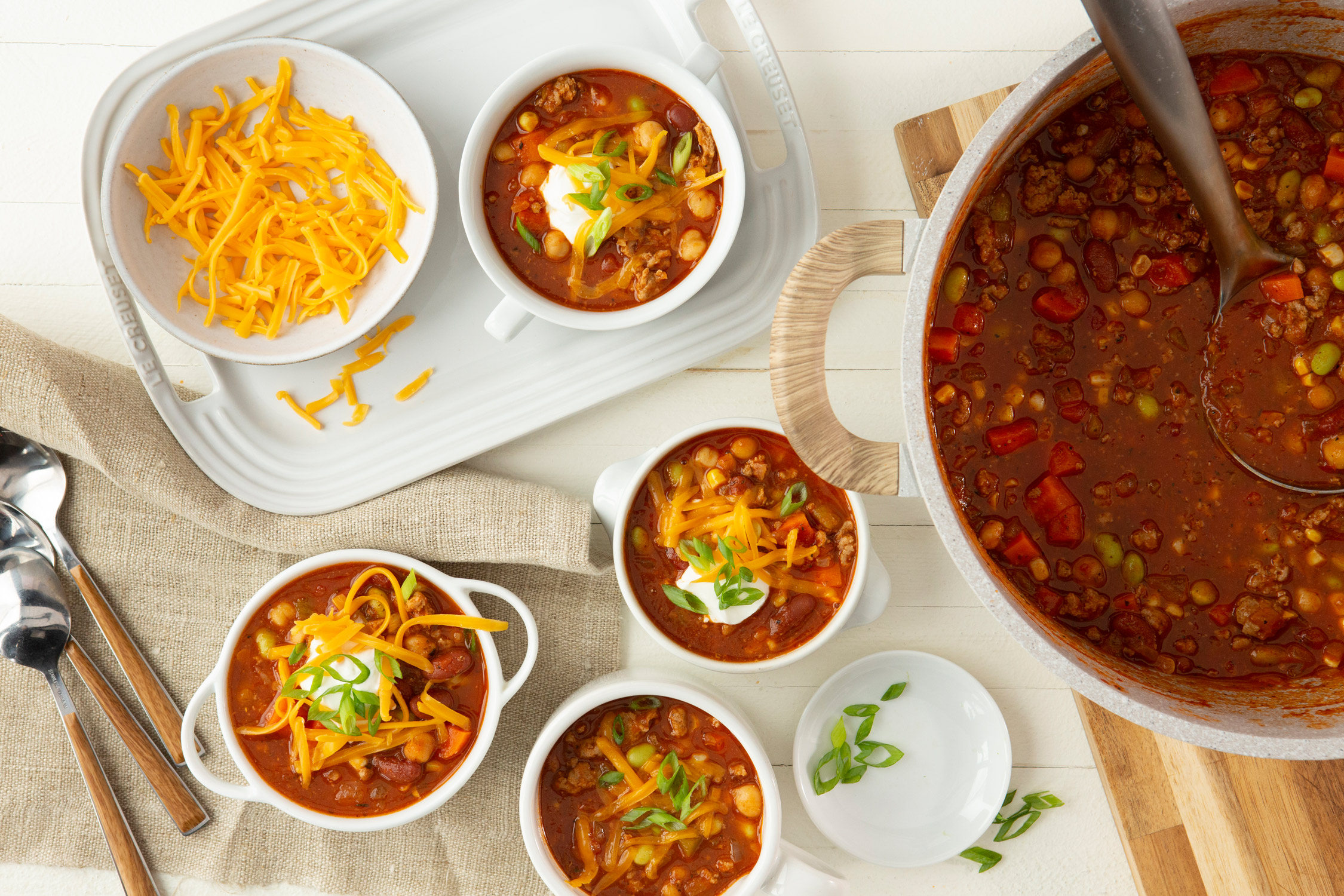 Copycat Turkey Chili