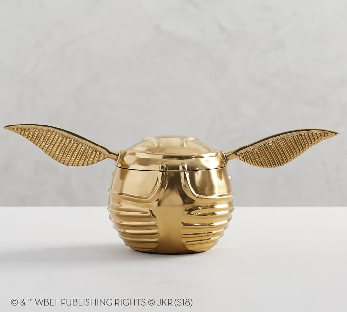 golden snitch snack bowl