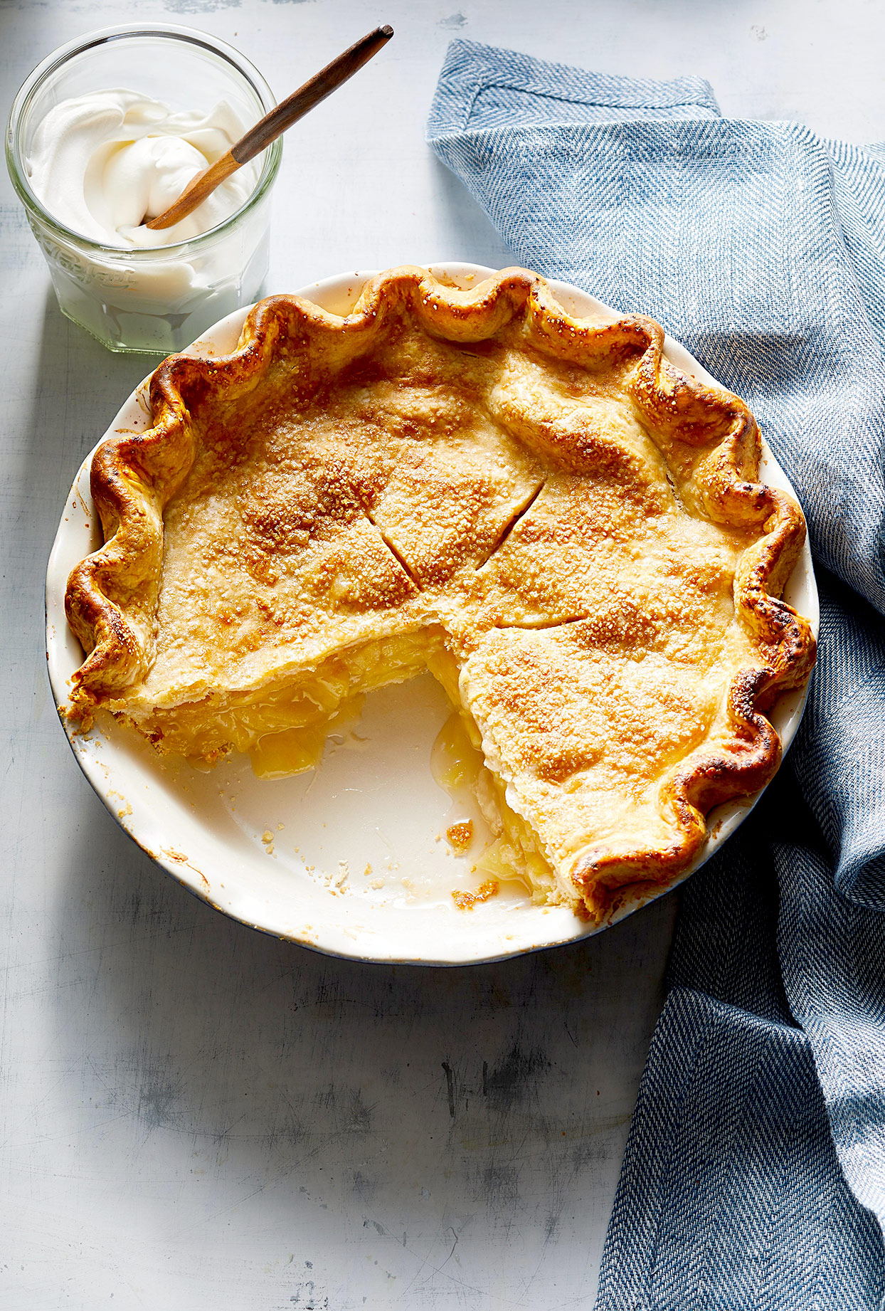 Easy Deep-Dish Apple Pie