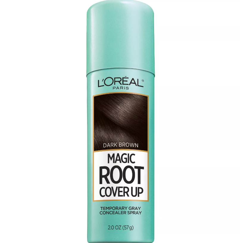 Gray hairs happen—sometimes between salon visits. This tinted spritz conceals them in seconds. It comes in six shades (blonde, red, and brunette hues) and lasts until your next shampoo.Buy It: L'Oréal Magic Root Cover Up, $9.99, Target
