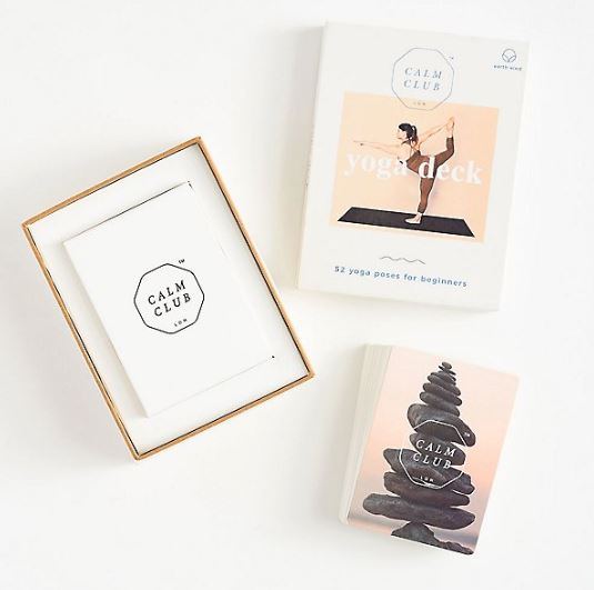 yoga card deck