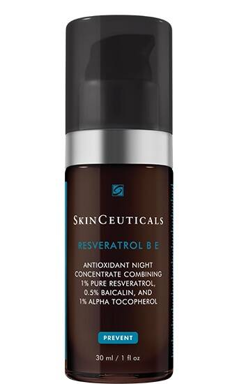 nighttime serum, brown bottle