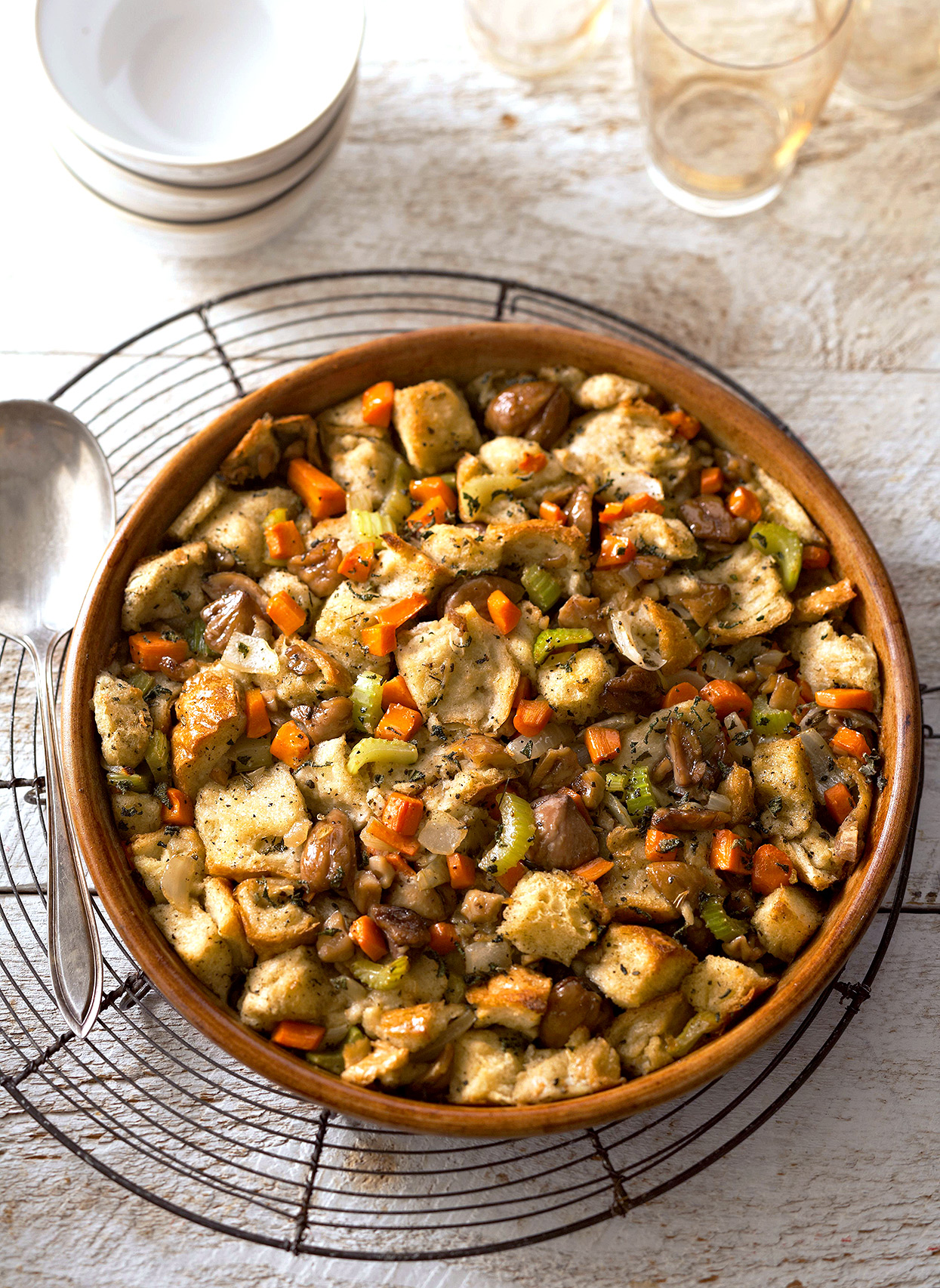 Roasted Chestnut Stuffing