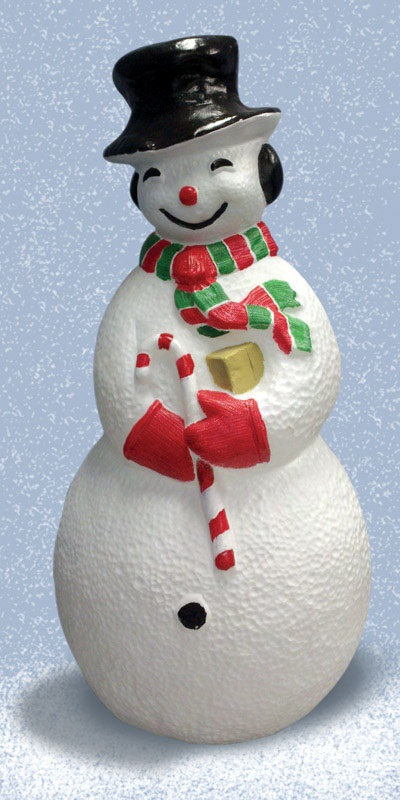 snowman christmas blow mold