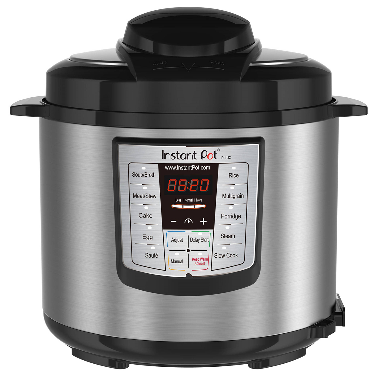 Instant Pot LUX60 V3 6 Qt 6-in-1 Multi-Use Programmable Pressure Cooker