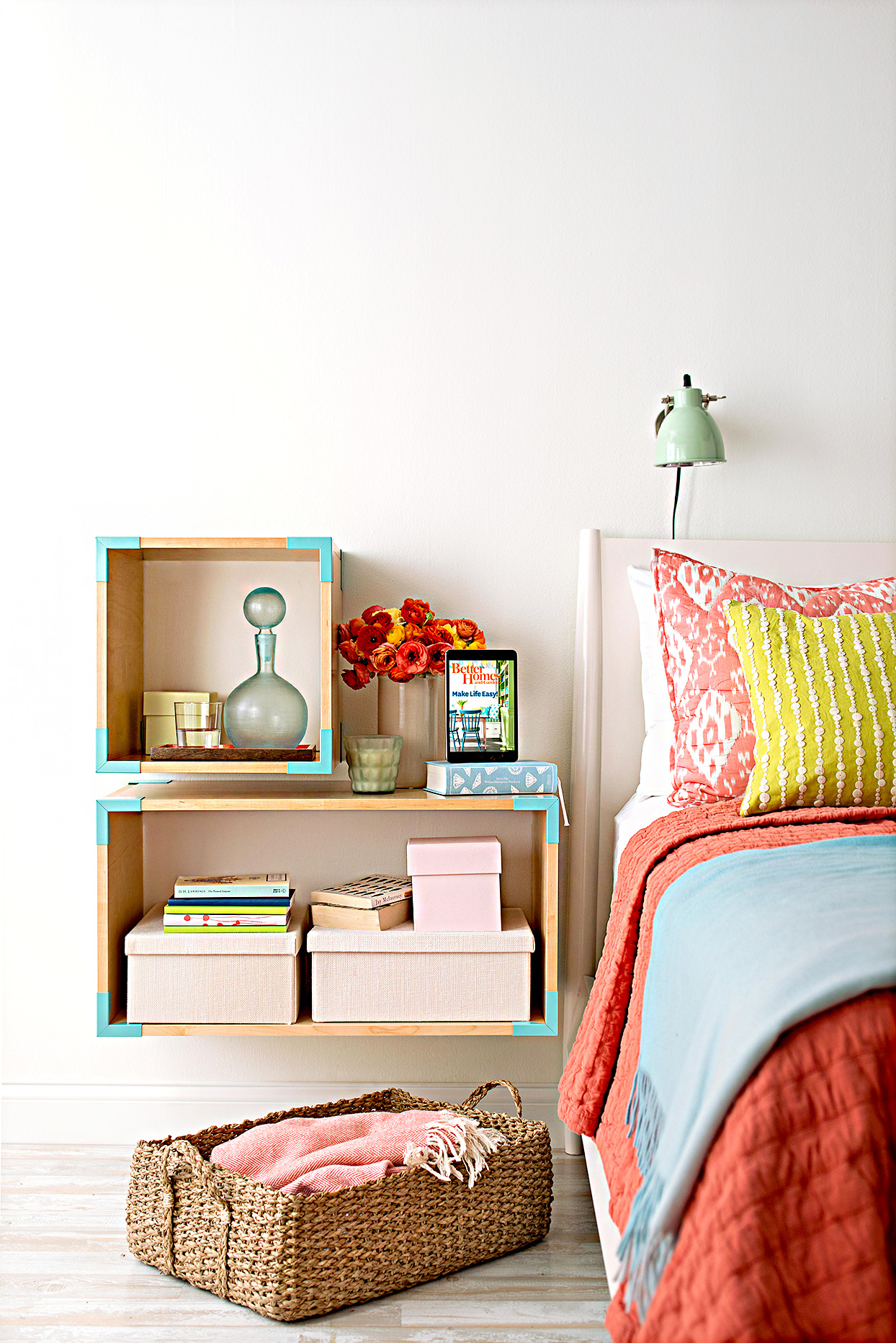 19 Genius Storage Solutions For Small Bedrooms Better Homes Gardens