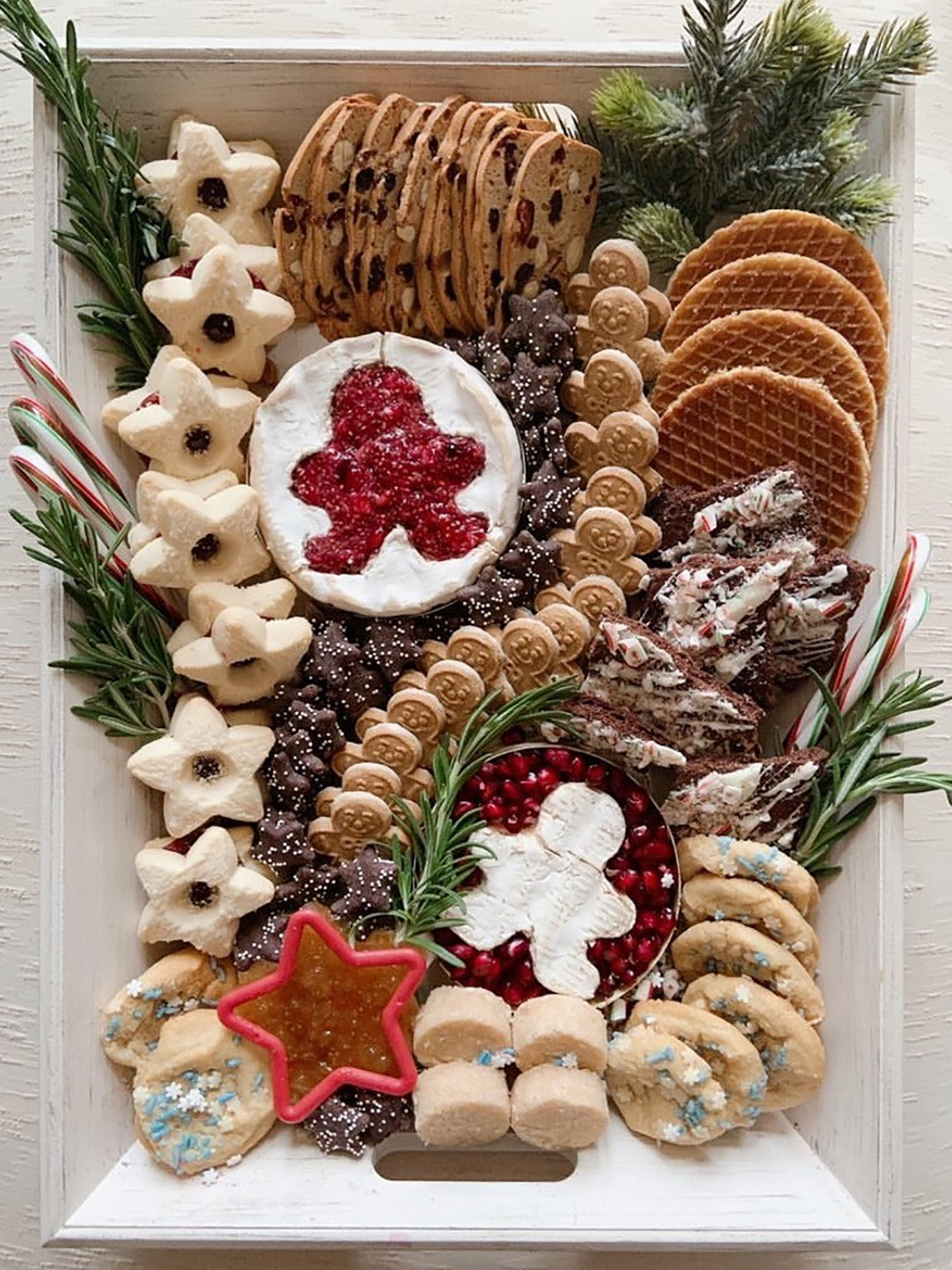 holiday charcuterie platter