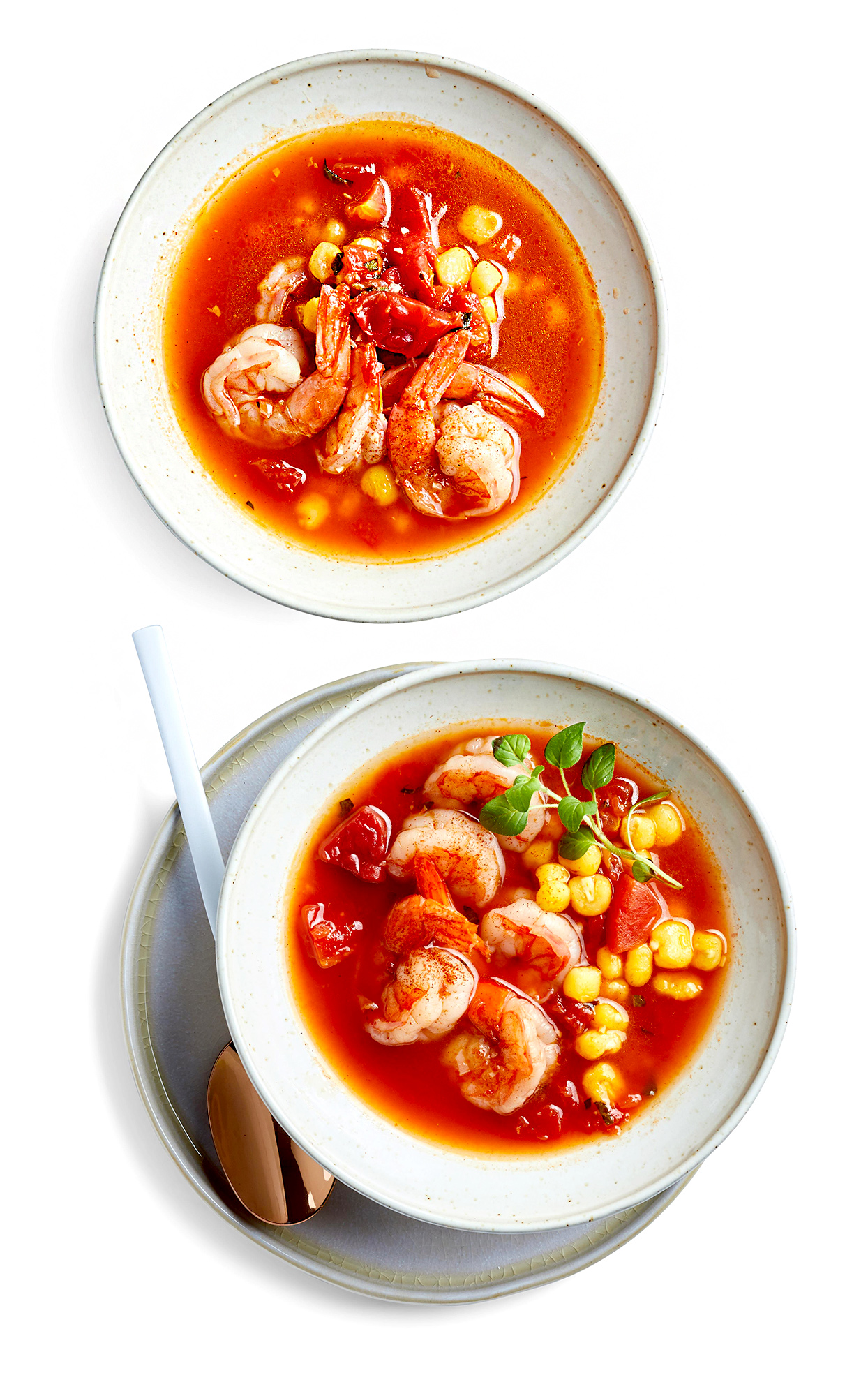 Shrimp and Hominy Stew