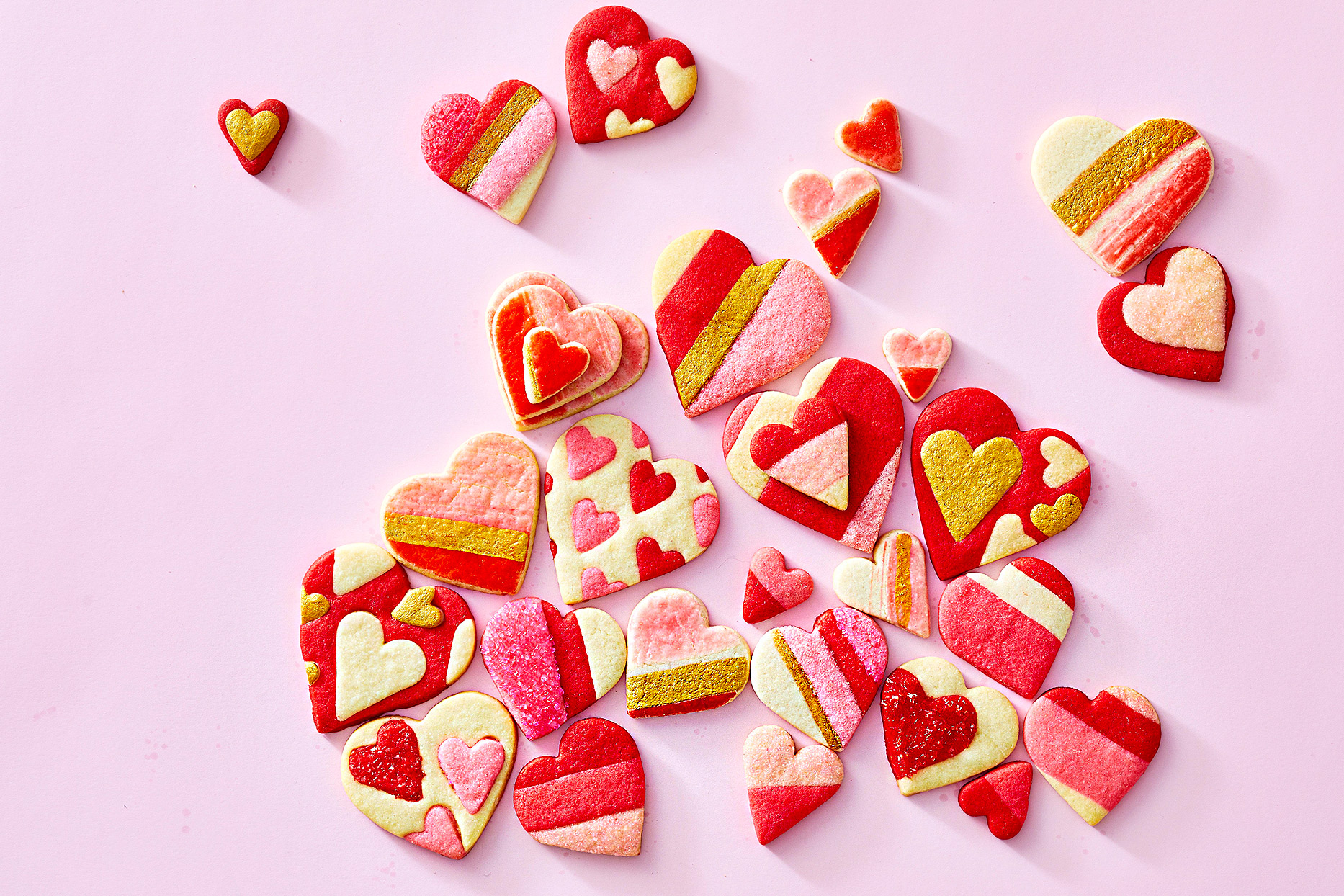 Valentine's Day Cookie Cutouts Three Ways