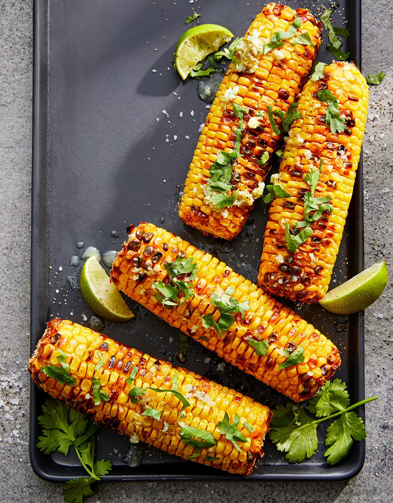 Mexican-Style Air-Fryer Corn on the Cob