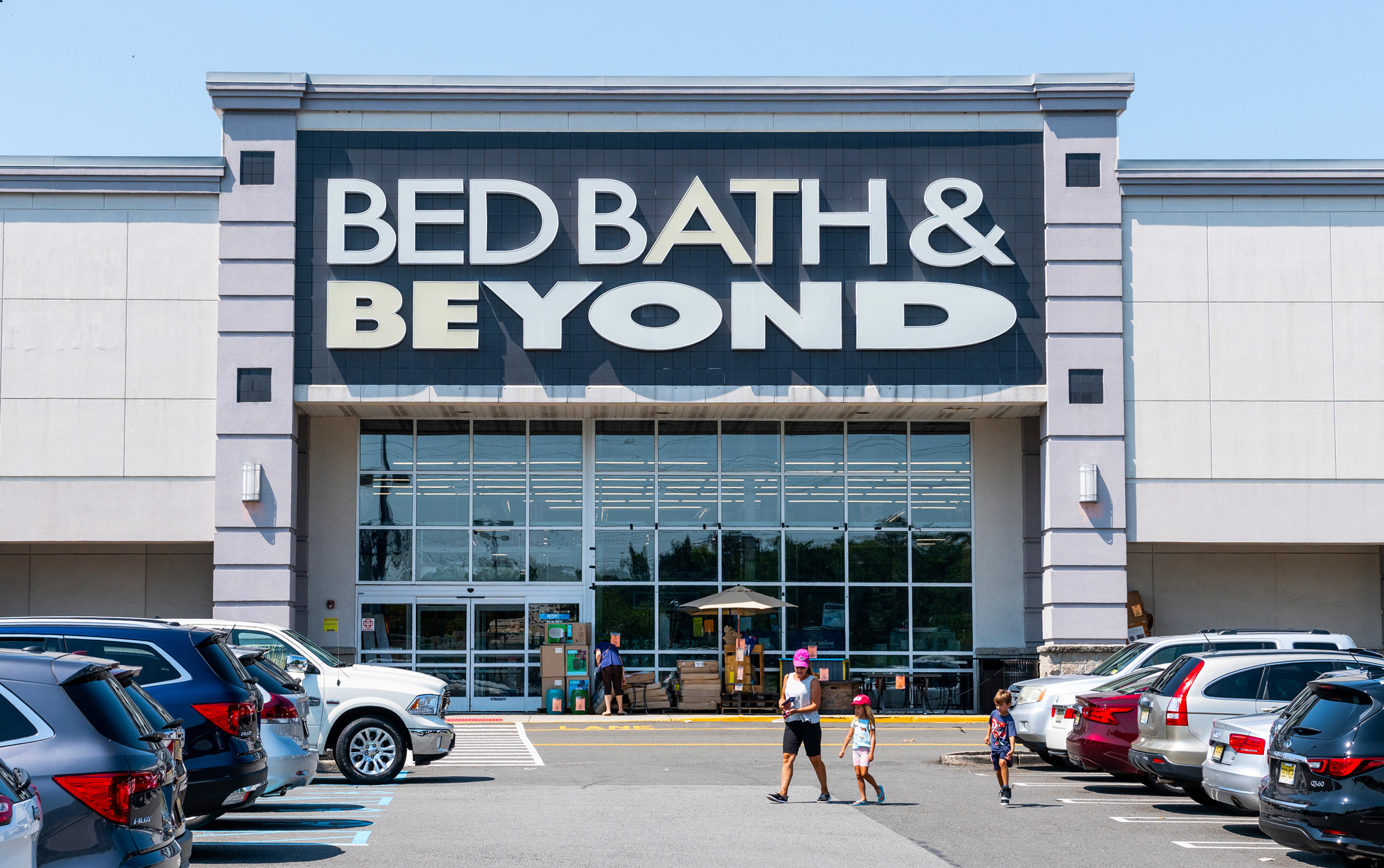 Bed Bath & Beyond storefront