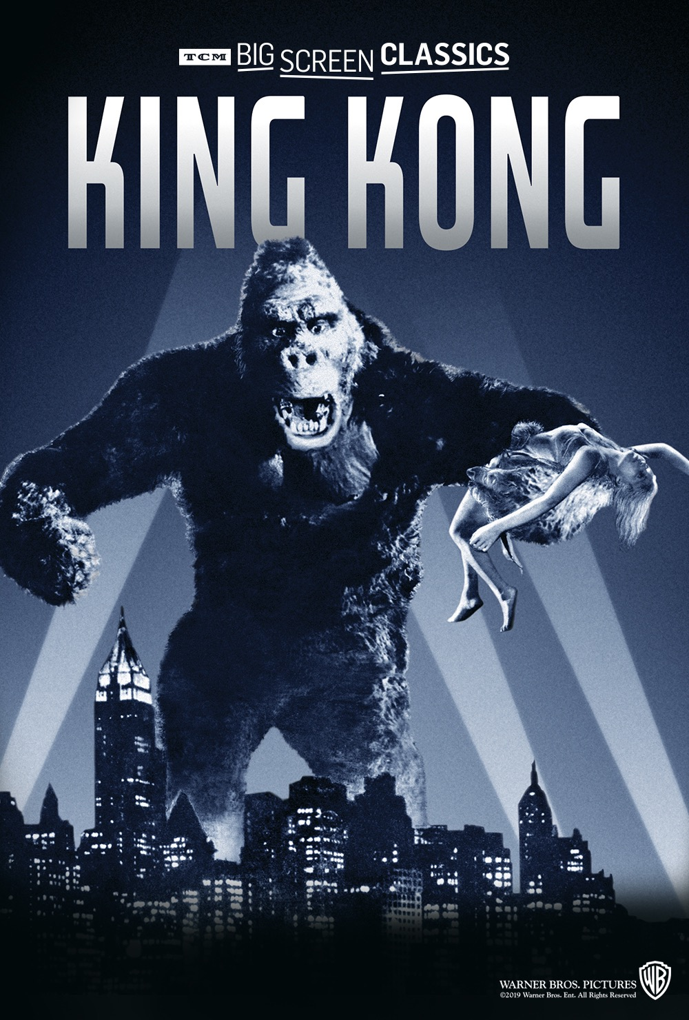 movie cover of king kong
