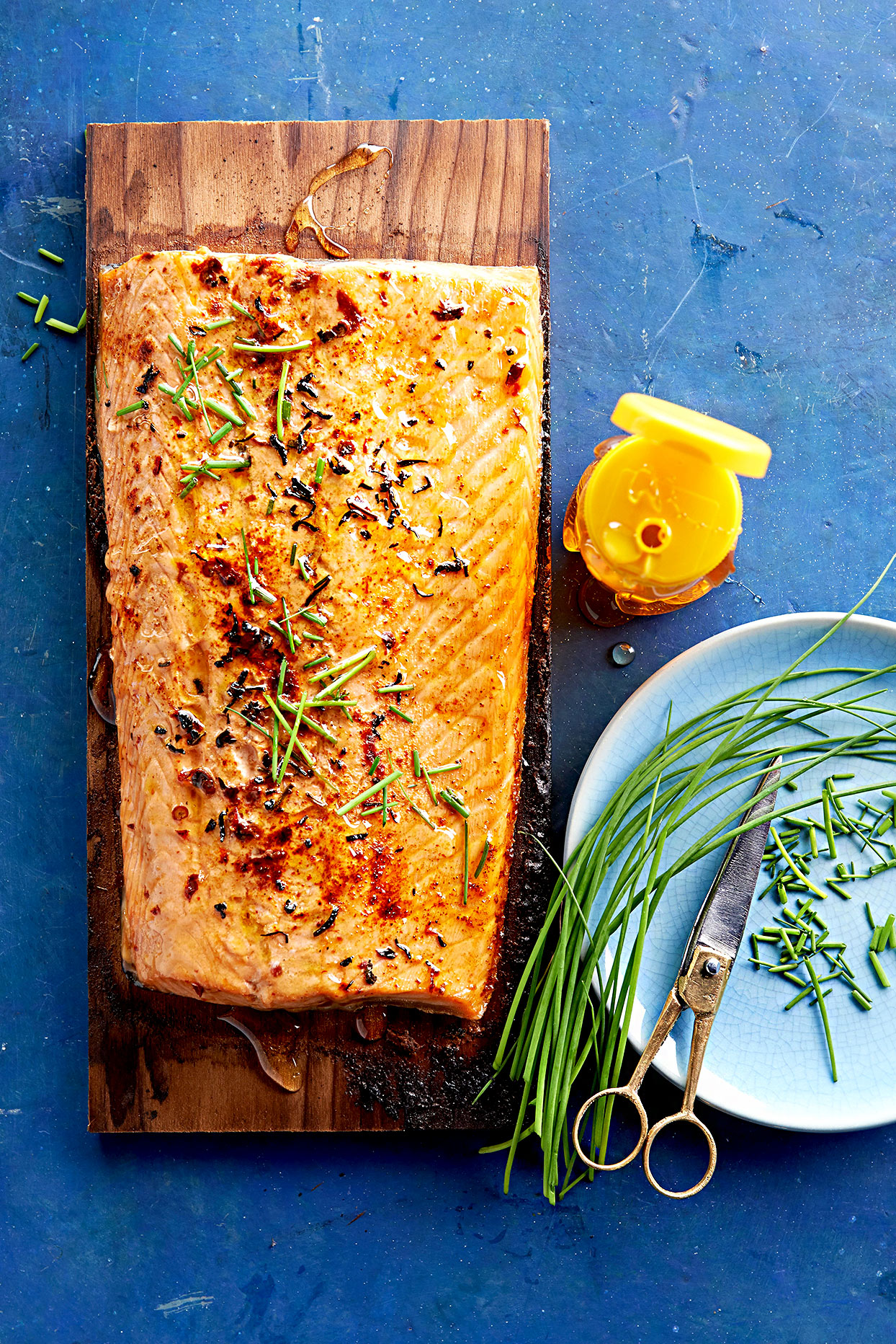 Tea-Marinated Salmon